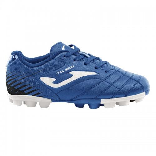 Ghete fotbal albastre JOMA TOLEDO JR 924 RUBBER 24