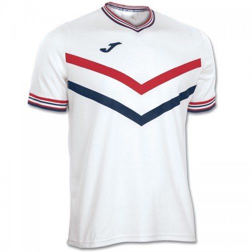 Tricou alb-roșu pentru bărbați JOMA TERRA 100065.200