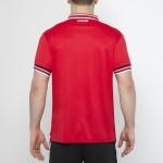 Tricou roșu-alb pentru bărbați JOMA POLO TERRA 100066.600