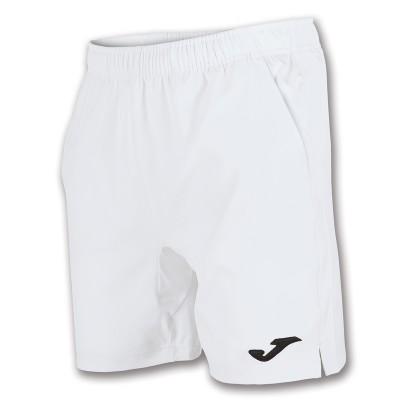 Pantaloni scurți albi pentru tenis pentru bărbați JOMA BERMUDA MASTER 100186.200 TENNIS H