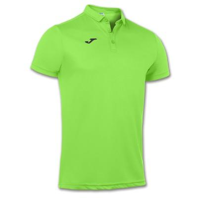 Tricou verde pentru bărbați JOMA POLO HOBY 100437.020