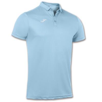 Tricou albastru deschis pentru bărbați JOMA POLO HOBBY 100437.350