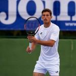 Tricou alb tenis pentru bărbați JOMA TENNIS 100509.200