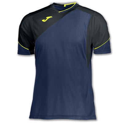 Joma T-SHIRT GRANADA 100565.301 BLUE-BLACK