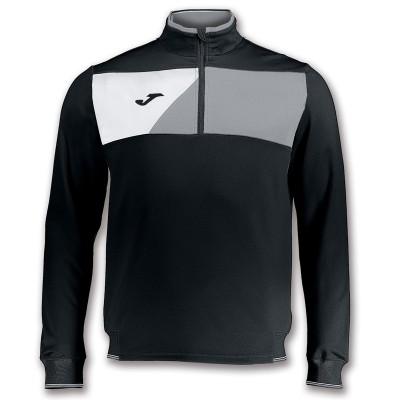 Bluză sport neagră-gri pentru bărbați JOMA CREW II 100612.111