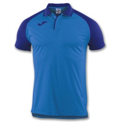 Tricou albastru pentru bărbați JOMA POLO TORNEO II 100639.700