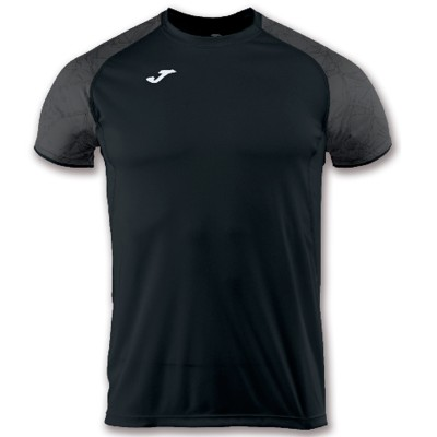 Tricou negru JOMA OLIMPIA 100736.100