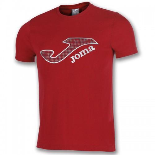 Tricou roșu bumbac logo  JOMA MARSELLA 100914.600