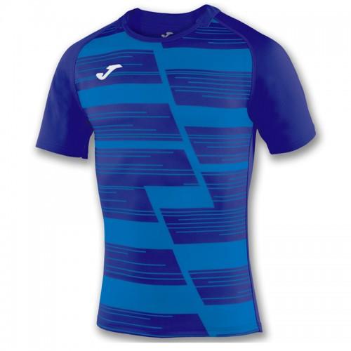 Tricou albastru pentru bărbați JOMA HAKA 100960.700