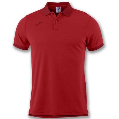 Tricou roșu pentru bărbați JOMA POLO ESSENTIAL 101062.600