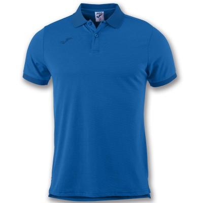 Tricou albastru pentru bărbați JOMA POLO ESSENTIAL 101062.700