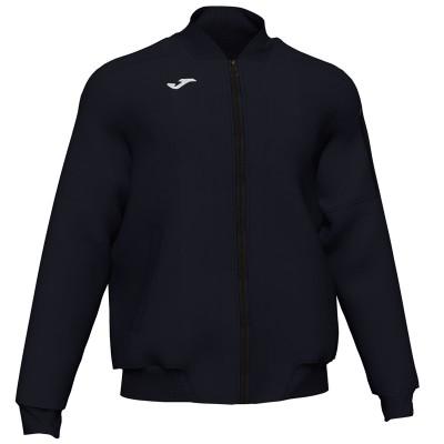 Jachetă neagră pentru bărbați JOMA CERVINO BOMBER 101293.100