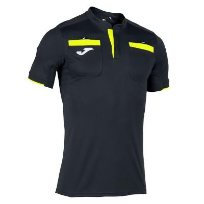 Tricou sport negru pentru arbitri JOMA REFEREE T-SHIRT 101299.121
