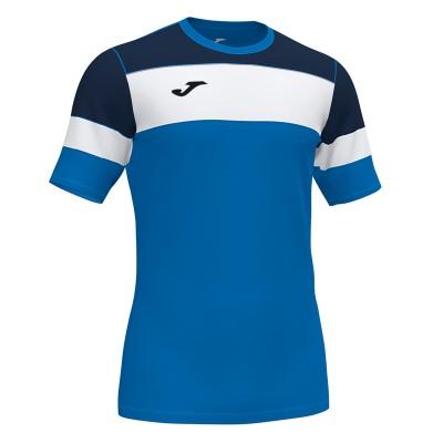 Tricou albastru-bleumarin pentru bărbați JOMA CREW IV 101534.703