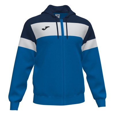Joma JACKET HOODIE CREW IV 101537.703 ROYAL-DARK NAVY