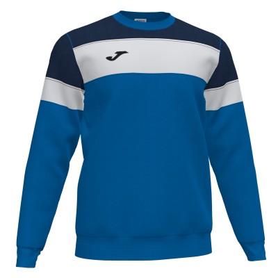 Bluză cu mânecă lungă Joma CREW IV 101575.703 albastru-alb-bleumarin