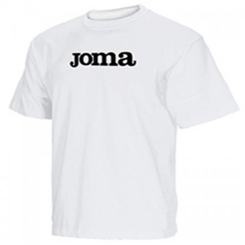 Tricou alb pentru bărbați JOMA COTTON 941.10.001