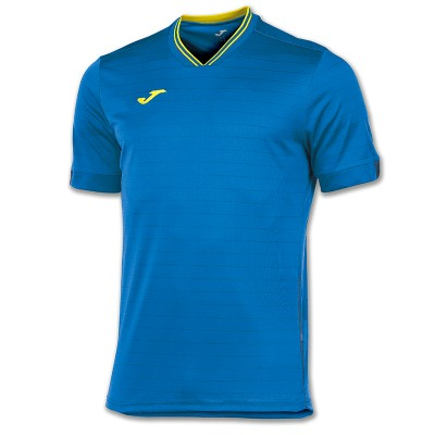 Tricou albastru-galben pentru bărbați JOMA TORNEO 100149.709