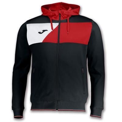 Jachetă neagră-roșie JOMA CREW II 100615.106