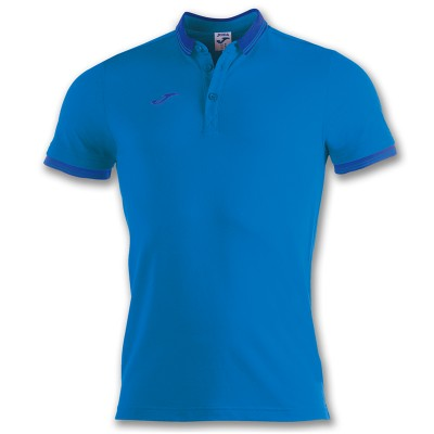 Tricou albastru pentru bărbați JOMA POLO BALI II 100748.700