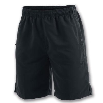 Pantaloni scurți negri pentru bărbați JOMA BERMUDA MICRO NIZA 100784.100