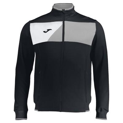 Jachetă neagră-alb pentru bărbați JOMA CREW II 100614.111 MICRO