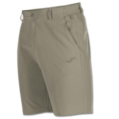 Pantaloni scurți bej pentru bărbați JOMA BERMUDA PASARELA 100204.001