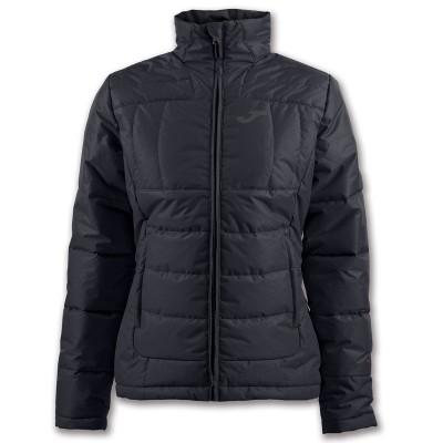 Jachetă neagră pentru femei JOMA ANORAK NEBRASKA  900389.100