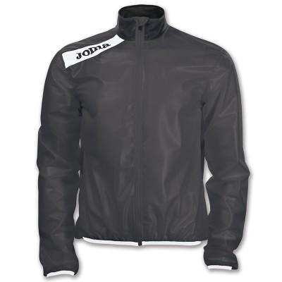 Jachetă neagră pentru ploaie JOMA CYCLING 7016.13.1012