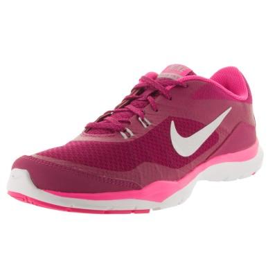 Pantofi sport roz pentru femei Nike WMNS NIKE FLEX TRAINER 724858-603
