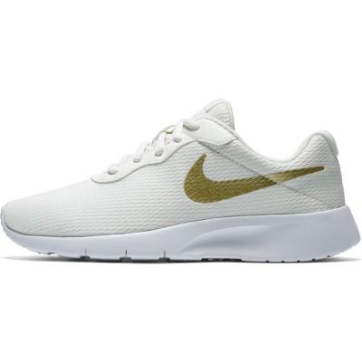 Pantofi sport albi NIKE TANJUN (GS) 818381-100