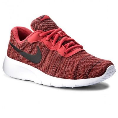 Pantofi sport roșii pentru copii NIKE TANJUN 818381-602 RED UNIVERSITY