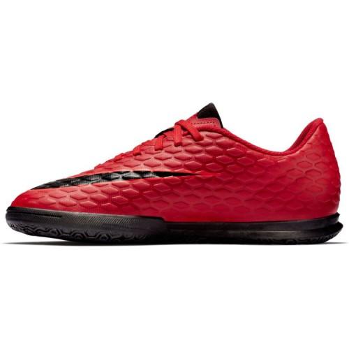 Pantofi sport roșii pentru copii Nike HYPERVENOMX  PHADE III IC 852583-616