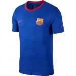 Tricou albastru pentru bărbați Nike BARCELONA FOOTBALL T-SHIRT 888801-455