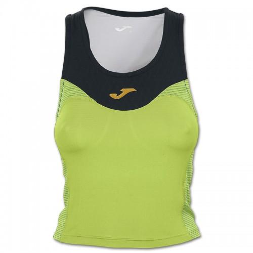 Tricou verde-negru pentru femei JOMA TOP FREE 900004.021