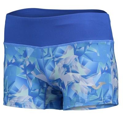 Pantaloni scurți albaștri pentru femei JOMA TROPICAL 900294.700