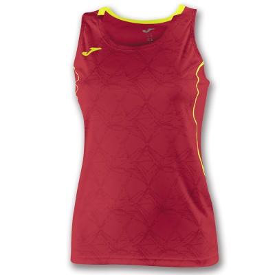 Tricou roșu-galben pentru femei JOMA OLIMPIA 900445.609