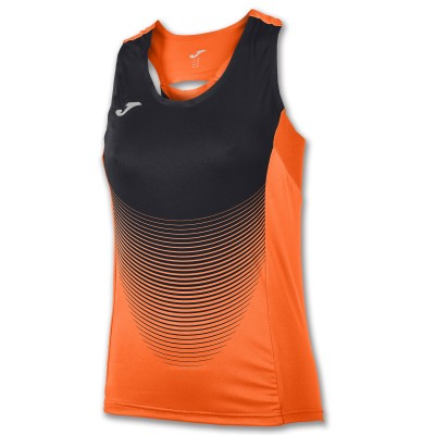 Tricou portocaliu-negru fără mâneci JOMA ELITE VI 900697.051