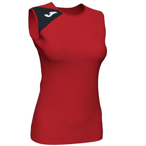 Tricou roșu Joma fără mâneci