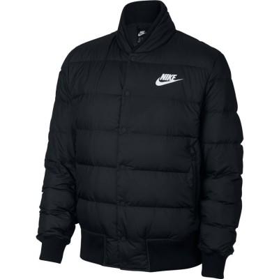 Geacă neagră pentru bărbați Nike M NSW DWN FILL BOMBER 928819-010