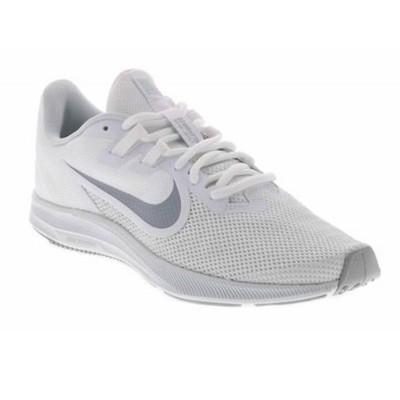 Pantofi sport albi pentru femei WMNS NIKE DOWNSHIFTER 9 GS AQ7486-100
