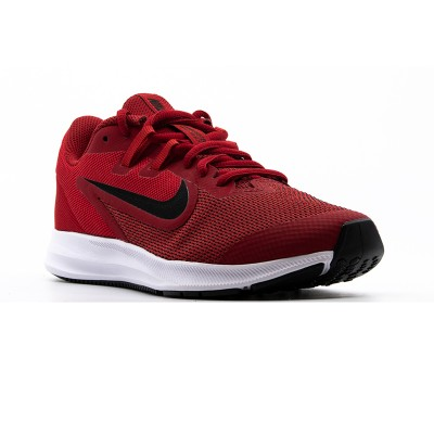 Pantofi sport roșii pentru femei NIKE DOWNSHIFTER 9 GS  AR4135-600