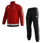 Trening negru-roșu pentru copii Adidas CELTA S47723