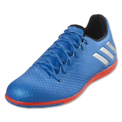 Pantofi sport albaștri pentru bărbați Adidas MESSI 16.3 IN S79636