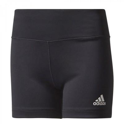 Pantaloni scurți negri pentru femei Adidas YG TR SHO TIGHT  CD8926