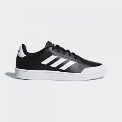 Pantofi sport negri pentru bărbați Adidas COURT70S B79771