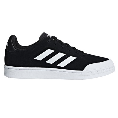 Pantofi sport negri pentru bărbați Adidas COURT70S B79779