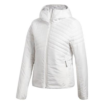 Jachetă albă pentru femei Adidas W CYTINS JACKET BQ1951