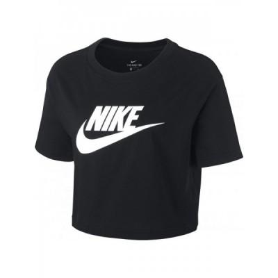 Tricou negru pentru femei Nike W NSW TEE ESSNTL CRP ICN FTRA BV6175-010