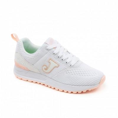 Pantofi sport albi pentru femei JOMA C.800 LADY 902 WHITE C.800LW-902